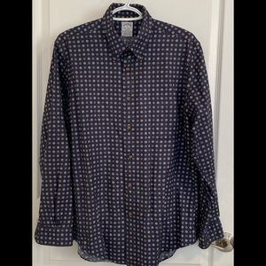 Brooks Brother Patterned Shirt